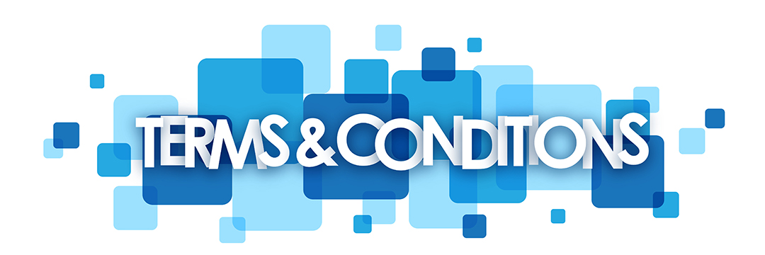 TERMS AND CONDITIONS Vector Letters Icon